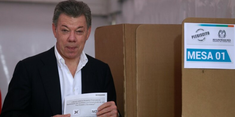"""Le """"non"""" à l'accord de paix devrait priver la Colombie du Nobel"""