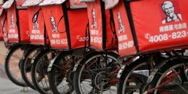 Yum Brands cède une part de sa filiale chinoise avant scission