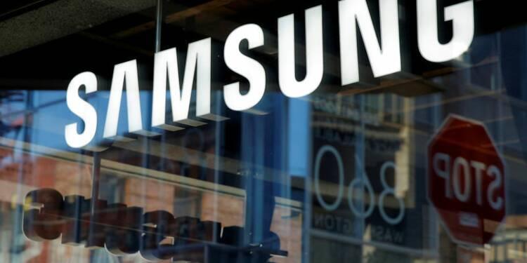 Samsung prévoit 4,8 milliards d'euros de bénéfice en moins