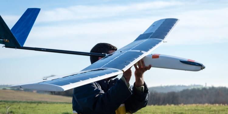 Après Solar Impulse, voici le premier drone solaire