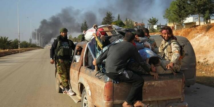 Moscou demande aux insurgés de quitter Alep d'ici vendredi soir