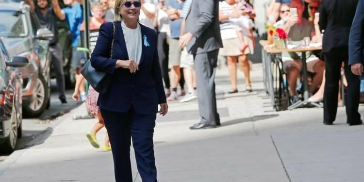 Hillary Clinton espère reprendre sa campagne en fin de semaine