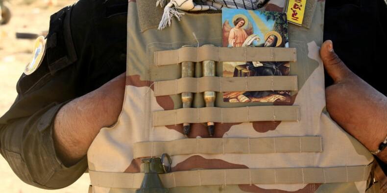 Reprise d'un monastère chrétien saccagé près de Mossoul