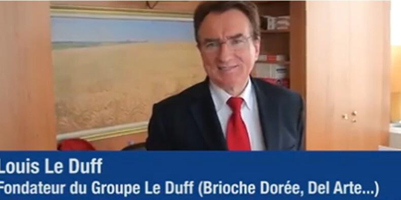 Dans le bureau de Louis Le Duff, patron de la Brioche dorée et de Pizza Del Arte