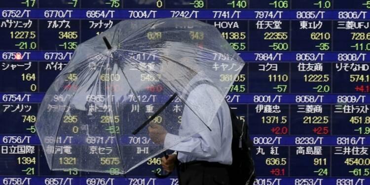 La Bourse de Tokyo finit sur une note mitigée
