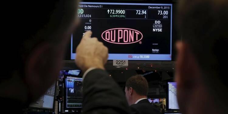 DuPont espère boucler la fusion avec Dow au premier semestre