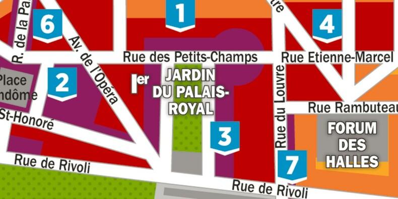 Immobilier : la carte des prix dans les 1er et 2ème arrondissements de Paris