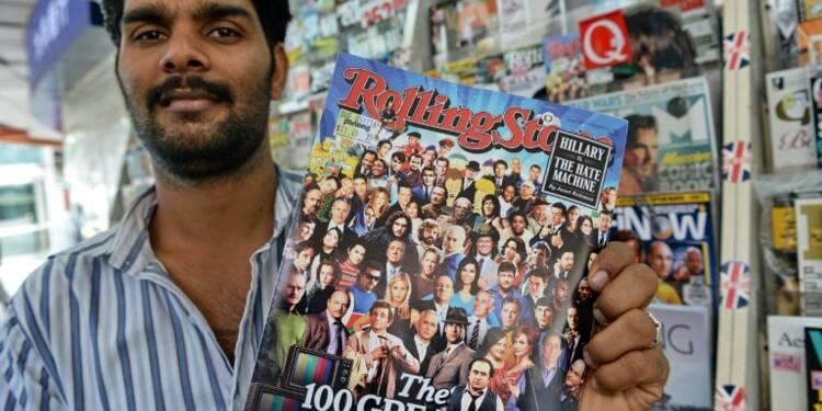 Une start-up de Singapour rachète 49% du magazine Rolling Stone