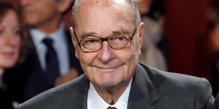 Jacques Chirac a quitté l'hôpital