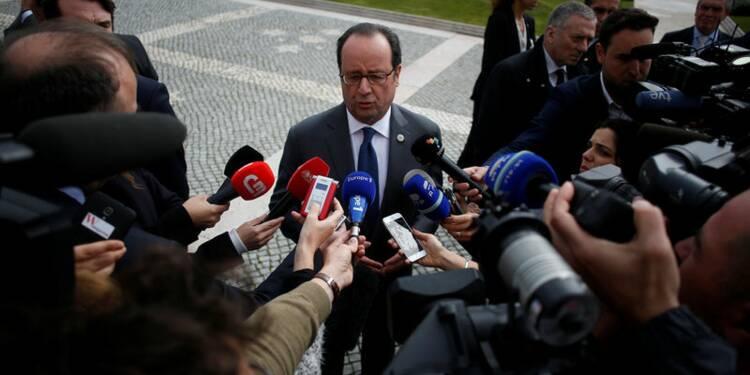 """Hollande met en garde Trump contre le """"repli sur soi"""""""