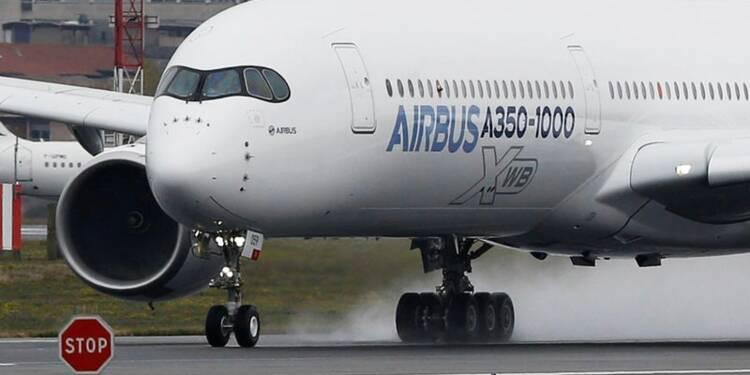 Airbus reste anxieux à l'égard des fournisseurs de l'A350