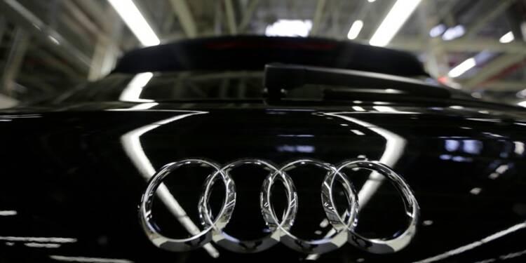 Audi dit discuter coopération avec le chinois SAIC Motor