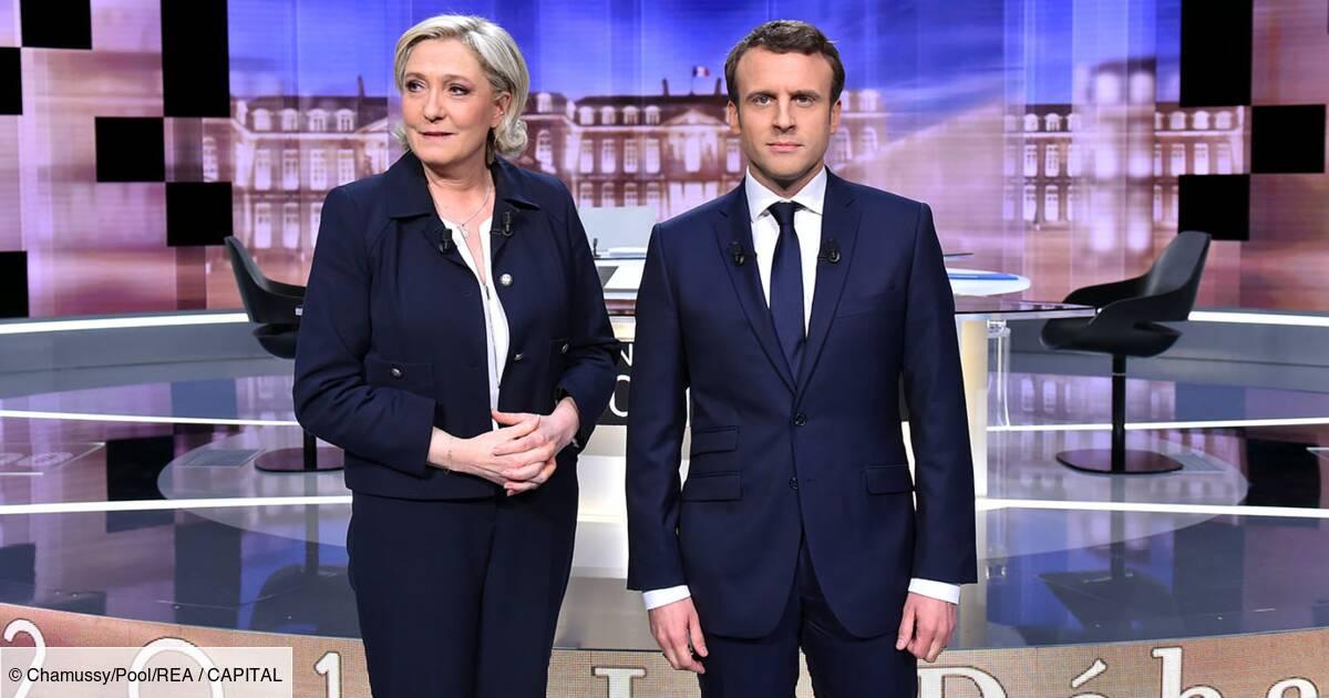 Sondage Du Second Tour Emmanuel Macron Creuse L Ecart Avec Marine Le Pen Capital Fr