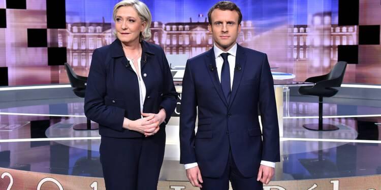 Sondage du second tour : Emmanuel Macron creuse l'écart avec Marine Le Pen