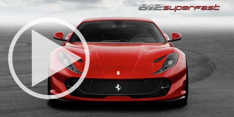 Découvrez la Ferrari 812 Superfast la plus rapide de l'histoire