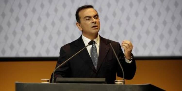 Carlos Ghosn s'offre un cadeau de Noël à 6,4 millions d'euros