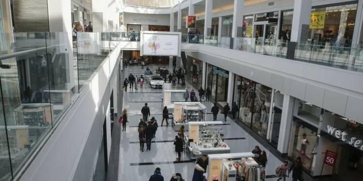 Plus faible hausse des ventes au détail en six mois aux Etats-Unis