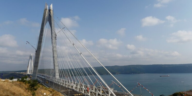 Erdogan inaugure un nouveau pont suspendu sur le Bosphore