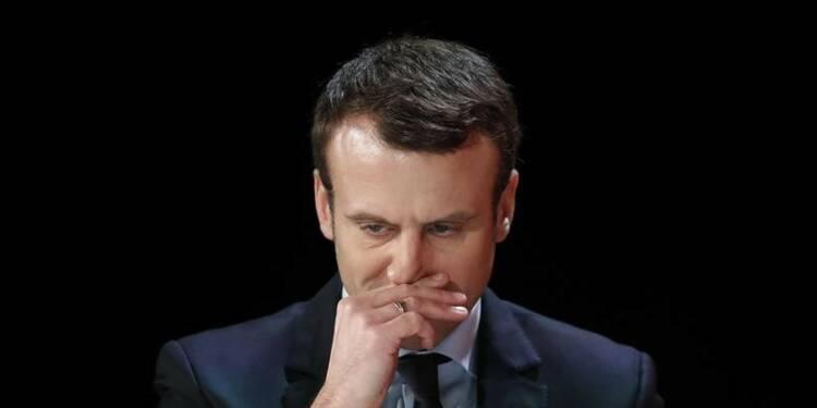 """Macron dit refuser de participer à l'""""hallali"""" contre Fillon"""
