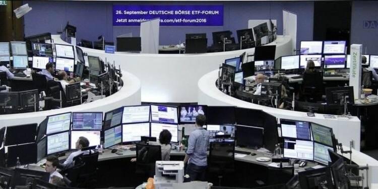 Les Bourses européennes dans le vert à mi-séance
