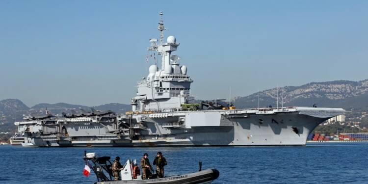 La France déploie son artillerie en Irak, avant son porte-avions