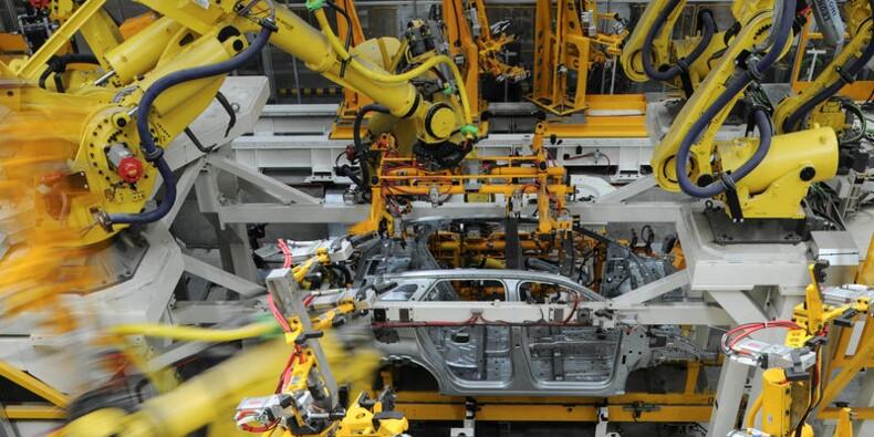La production industrielle chinoise un peu meilleure que prévu