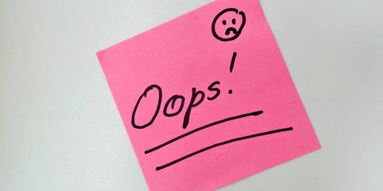 Comment bien reconnaître ses erreurs au travail