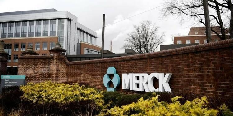 Merck relève ses prévisions annuelles