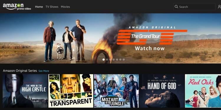 """Découvrez """"Prime Video"""", la nouvelle offre d'Amazon pour concurrencer Netflix"""