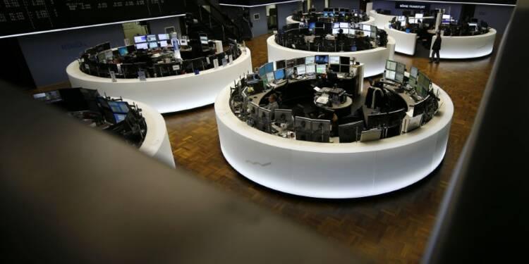 Les Bourses européennes en hausse excepté Londres à la mi-séance