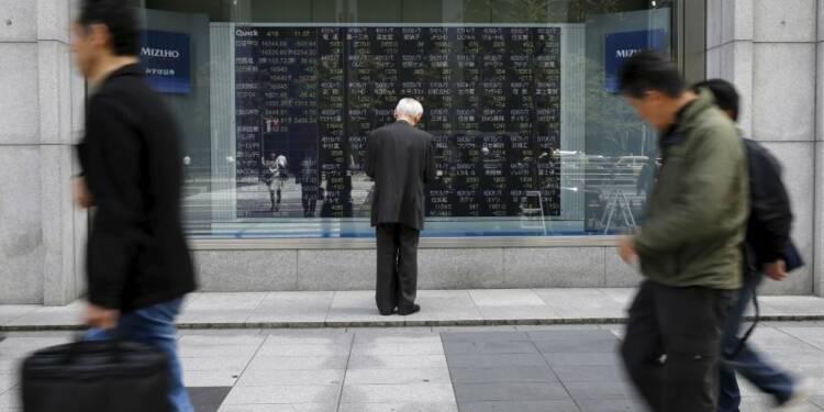 La Bourse de Tokyo finit en baisse de 0,46%