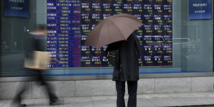La Bourse de Tokyo finit en hausse de 0,34%