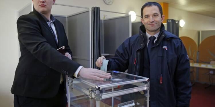 Plus d'un million de votants à 17h00 pour la primaire de gauche