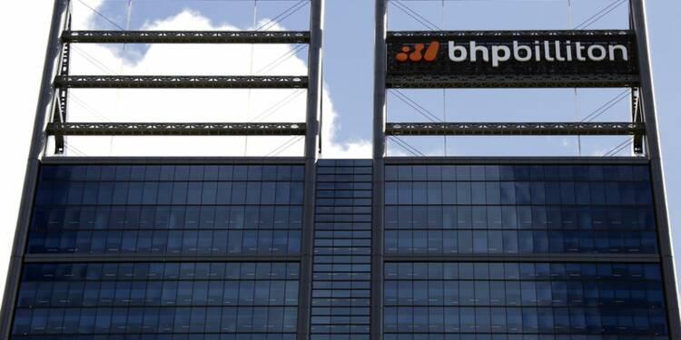 Rebond du bénéfice semestriel de BHP Billiton, hausse du dividende