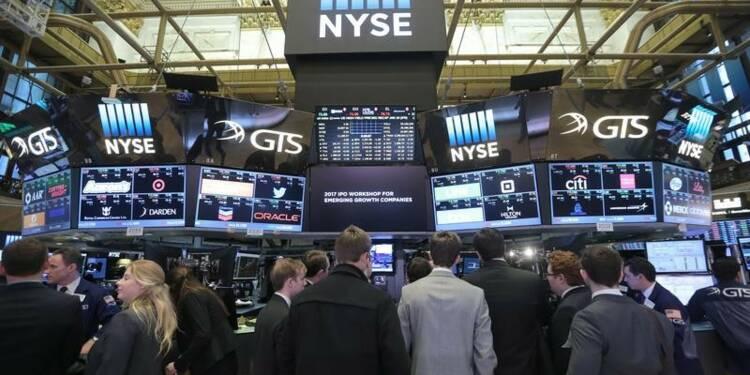 Wall Street sur la défensive avant l'investiture de Trump