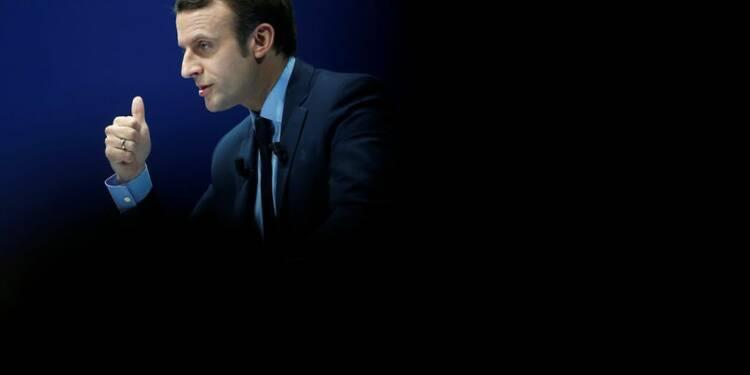 Macron veut associer vertu budgétaire et investissement public