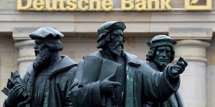 Deutsche Bank juge exagérées les craintes sur ses dérivés