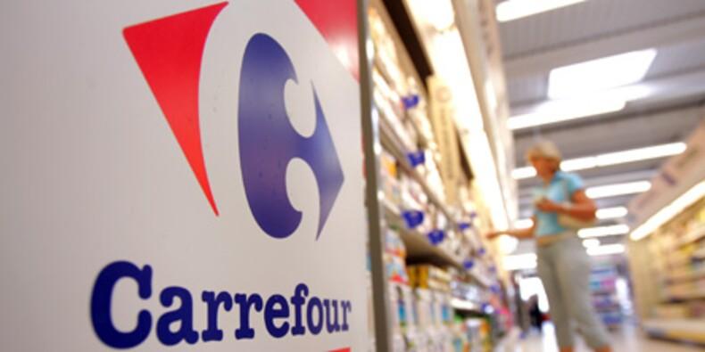 Carrefour résiste à la crise et s'envole en Bourse