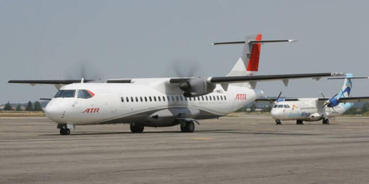ATR, le petit frère d'Airbus, a perdu de l'altitude en 2016
