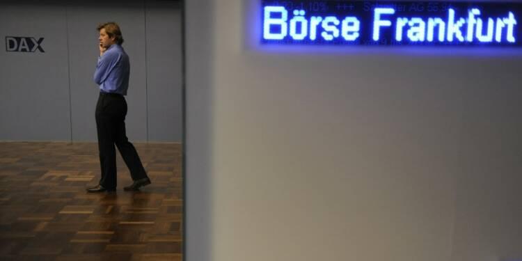 Les Bourses européennes terminent en forte hausse