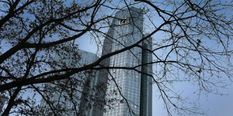 Après une vive dégringolade, l'action Deutsche Bank se ressaisit