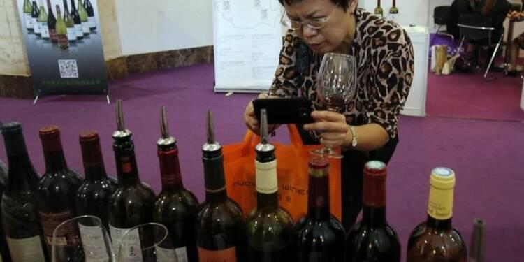 Forte hausse des exportations de vins de Bordeaux vers la Chine
