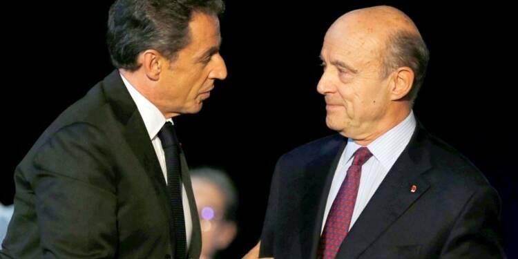 Sarkozy et Juppé donnés au coude à coude par TNS-Sofres