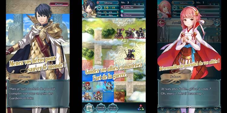 Fire Emblem Heroes : avec la sortie de ce nouveau jeu, Nintendo se renforce sur mobile