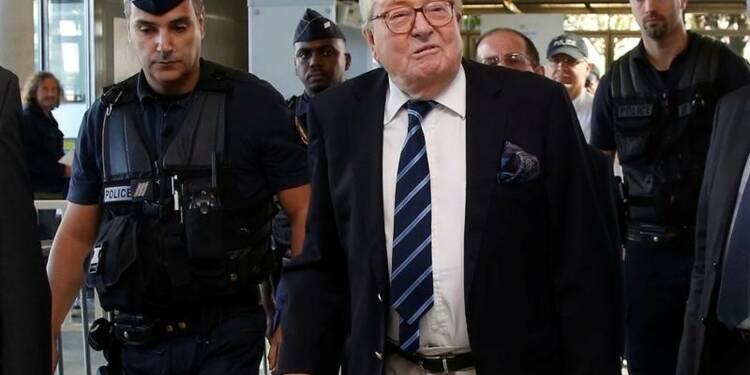 30.000 euros d'amende en appel pour Jean-Marie Le Pen