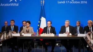 Retour Risqué Pour François Hollande à Florange Capitalfr