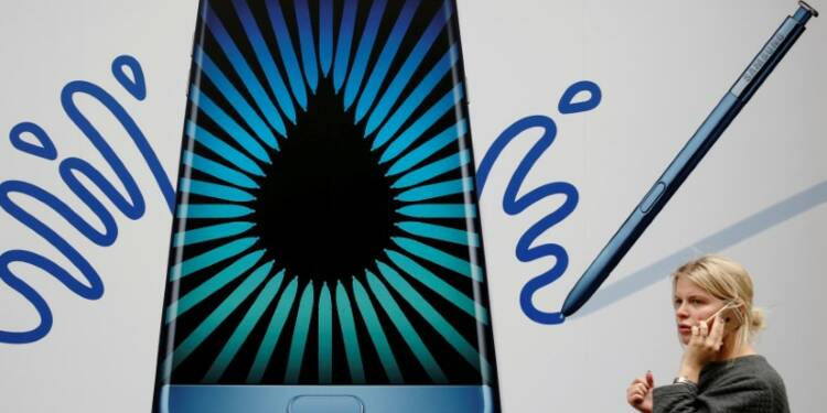 Samsung arrête la production des Galaxy Note 7