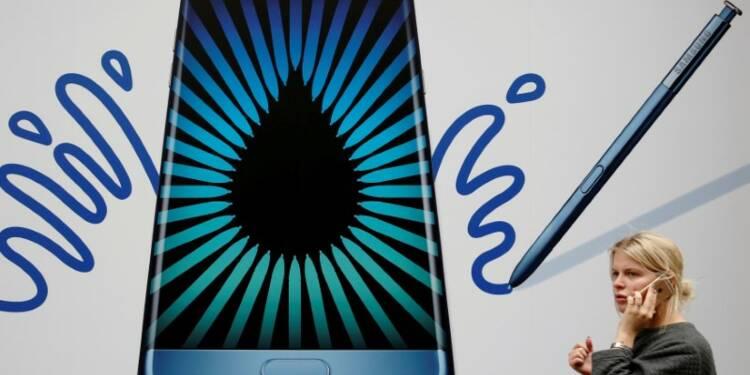 Nouvelle tuile pour le Galaxy Note 7 de Samsung