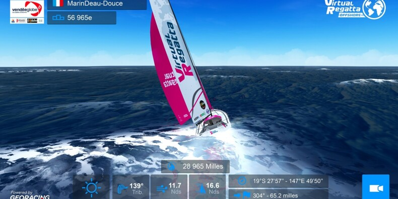 Participez vous aussi au Vendée Globe grâce à Virtual Regatta !