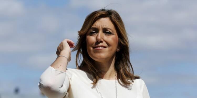 Susana Diaz favorite à la succession du PSOE en Espagne
